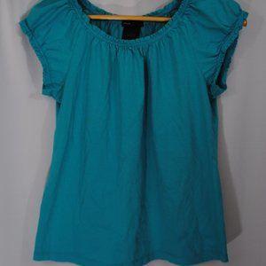 Turquoise Short Sleeve Shirt